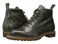 Massimo Matteo Alpine Boot Military Green Men's Lace Up Boots
