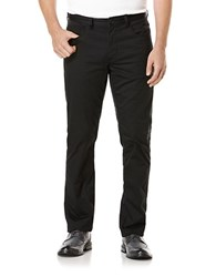 Perry Ellis Slim Fit Pants Black