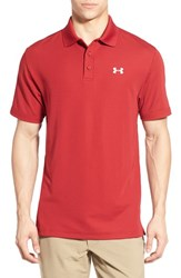 Men's Under Armour 'Performance 2.0' Sweat Wicking Stretch Polo Crimson