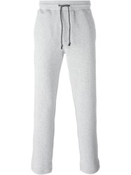Brunello Cucinelli Cropped Track Pants Grey