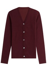 Lucien Pellat Finet Cashmere Cardigan Red