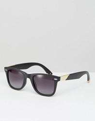 Jeepers Peepers Square Sunglasses Black
