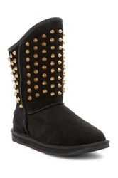 Australia Luxe Collective Pistol Short Studded Genuine Shearling Boot Black