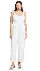 Cupcakes And Cashmere Carrera Jumpsuit Ivory