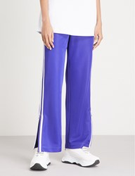 Moandco. Side Striped Jersey Jogging Bottoms Clematis Blue
