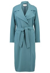 Just Female Trenchcoat Hydro Green