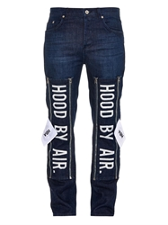 Hood By Air 1969 Embroidered Skinny Jeans