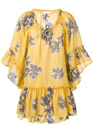 Anjuna Futura Dress Yellow