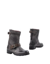 Keb Ankle Boots Grey