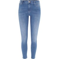 River Island Womens Mid Blue Molly Skinny Fit Jeggings