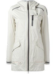 Parajumpers Hooded Raincoat Nude Neutrals