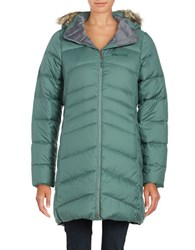 Marmot Montreal Hooded Quilted Coat Urban Army