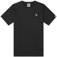 Aape By A Bathing Ape One Point Tee Black
