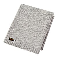 Tweedmill Knitted Alpaca Throw Grey