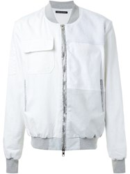 Longjourney Patch Pocket Jacket White