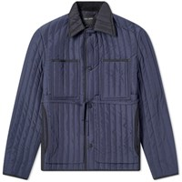 Craig Green Quilted Worker Jacket Blue