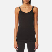 Falke Ergonomic Sport System Women's Singlet Silk Wool Baselayer Anthracite Melange Black