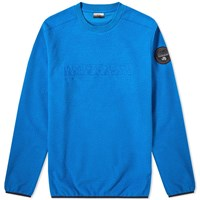 Napapijri Tame Fleece Crew Sweat Blue