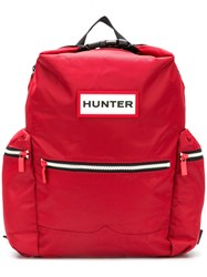 Hunter Water Resistant Backpack Red