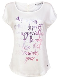 Garcia Women Printed Top White