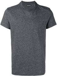 Tom Ford Round Neck T Shirt Grey