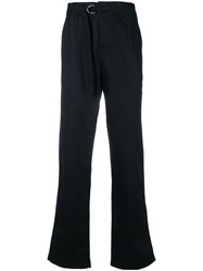 Joseph Tailored Fitted Trousers Blue