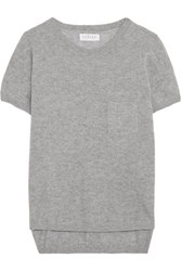 Velvet By Graham And Spencer Cashmere Top Gray