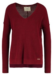 Abercrombie And Fitch Shaker Jumper Bordeaux