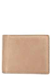 Nordstrom Shop Upton Leather Wallet Brown Tan Dusk
