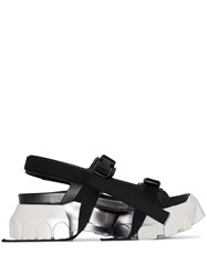 Rick Owens Larry Tractor Hiking Sandals Black