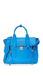 3.1 Phillip Lim Pashli Medium Satchel Cyan