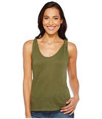 Joe's Jeans Ula Tee Dark Moss Women's T Shirt Brown