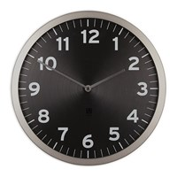 Umbra Anytime Clock Black