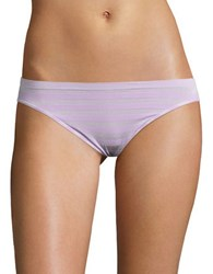 Jockey Striped Bikini Panties Old Lilac