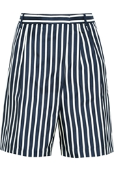 J.Crew Collection Striped Silk Twill Shorts