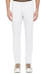 Barneys New York Men's Drawstring Royce Pants White