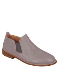 Gentle Souls Essex Leather Loafers Grey