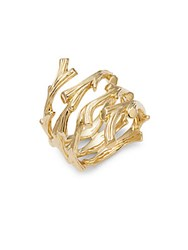 Michael Aram Enchanted Forest 18K Gold Twig Ring