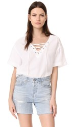 Ag Jeans Kelly Top True White