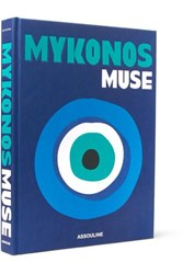Assouline Mykonos Muse By Lizy Manola Hardcover Book Blue