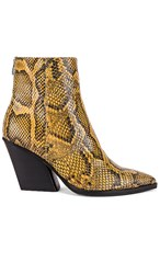 Dolce Vita Issa Bootie In Brown. Amber