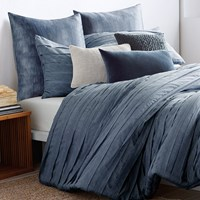 Dkny Loft Stripe Duvet Cover Indigo Super King