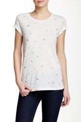 J.Crew Factory Short Sleeve Stars Tee Multi