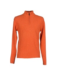 Tsr Tessitore Turtlenecks Orange