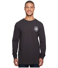 Quiksilver Critical Dates Long Sleeve Tee Tarmac T Shirt Olive