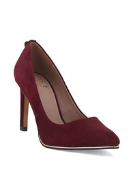 Elliott Lucca Catalina Leather Pumps Cabernet