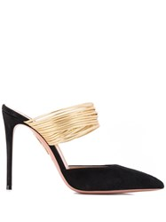 Aquazzura Rendezvous Mules Black