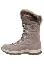 Jack Wolfskin Glacier Bay Texapore Winter Boots Moon Rock Light Brown