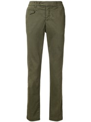 Al Duca D'aosta 1902 Basic Chinos Green