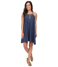 Roper 0425 5 Oz Indigo Denim Sharkbite Dress Blue Women's Dress